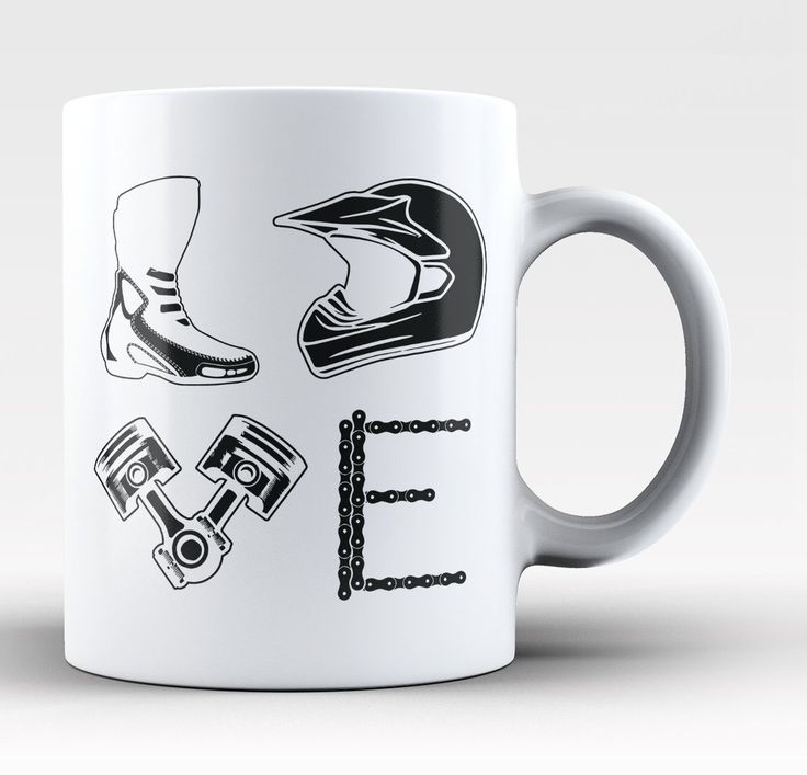Love Motocross - Mug