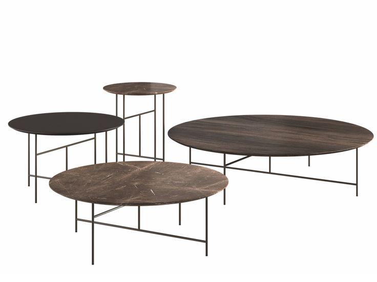 Mesa de centro redonda estilo moderno SEN - DE PADOVA