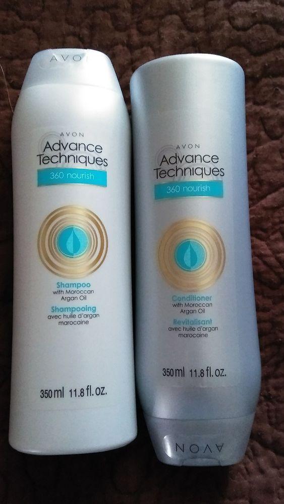 Avon Shampoo and Conditioner with argan Oil #Avon