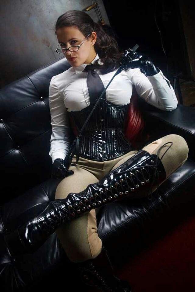 Women high bondage heeled in