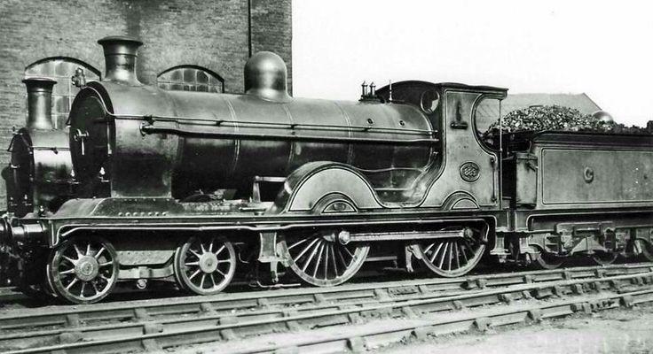 Caledonian Railway  Mcintosh 900 class  4-4-0