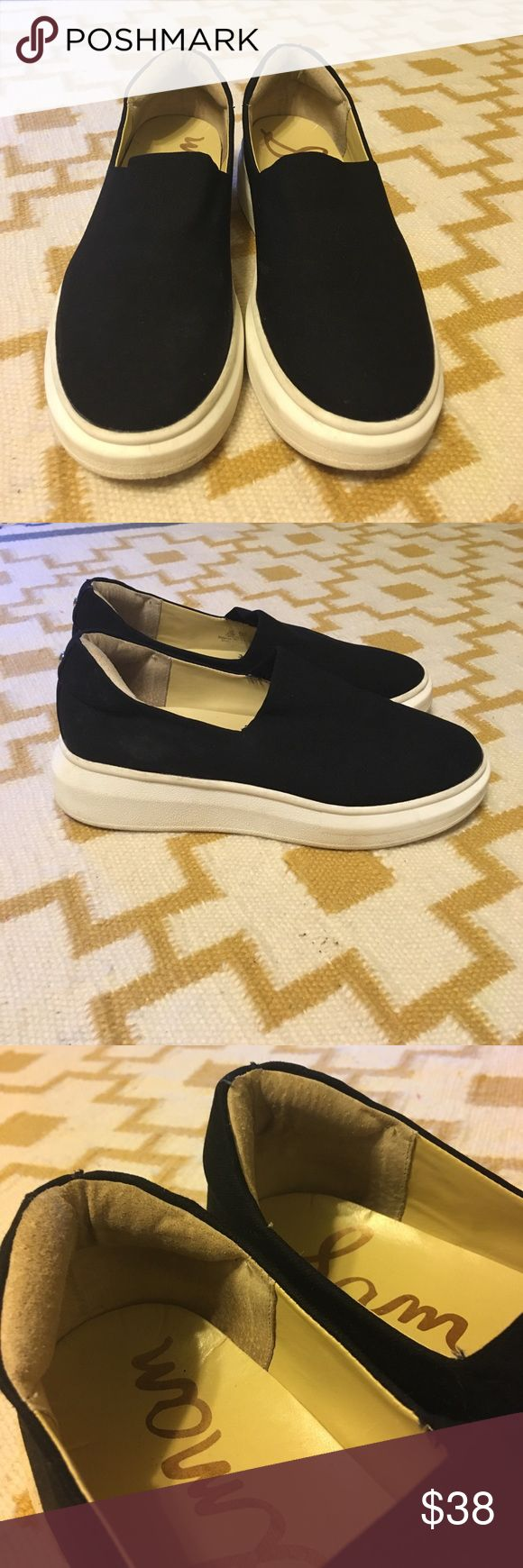 Platform tennies Platform tennis shoes! Super comfy with lots of padding! Fit more like an 8! Sam Edelman Shoes Sneakers