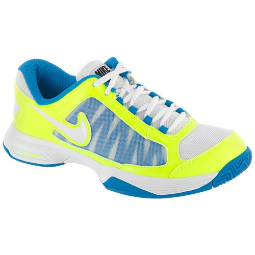 Nike Zoom Courtlite 3: Nike Women\u0027s Tennis Shoes White/volt/blue/glow