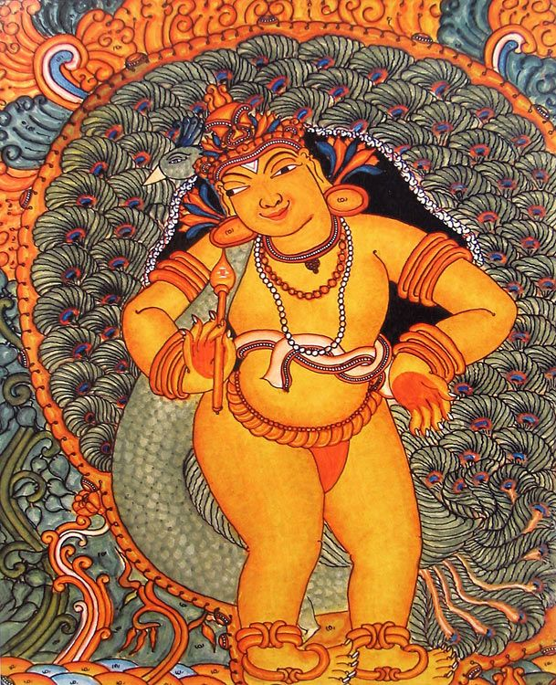 Young Kartikeya (Reprint on Paper - Unframed))