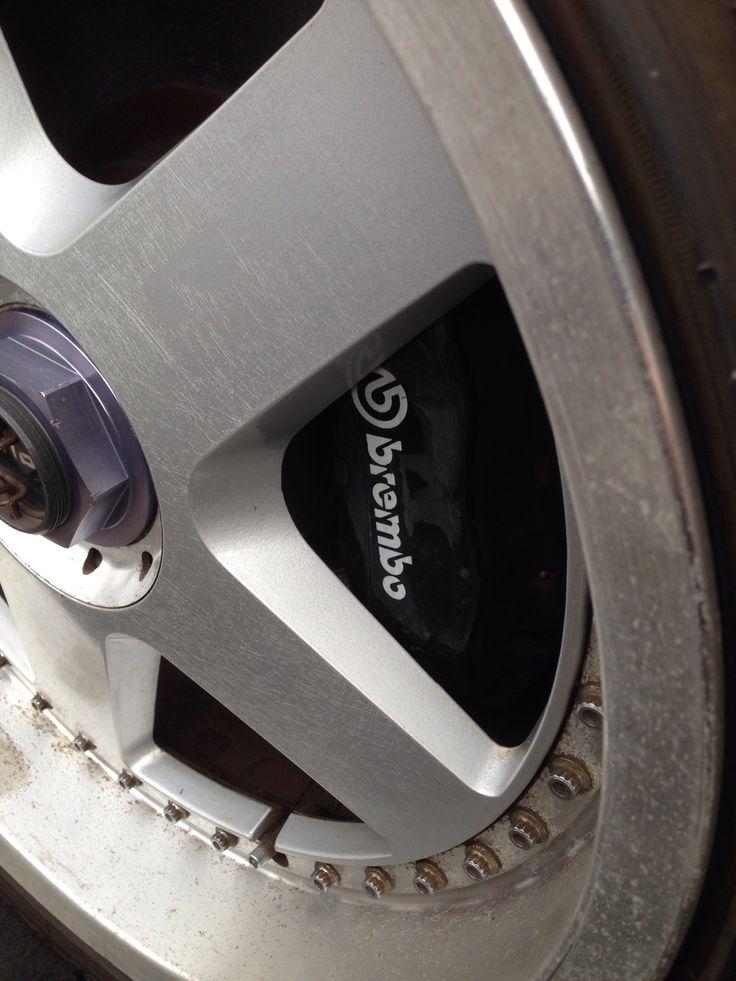 Brembo brakes on my 1990 R32 GT-R.