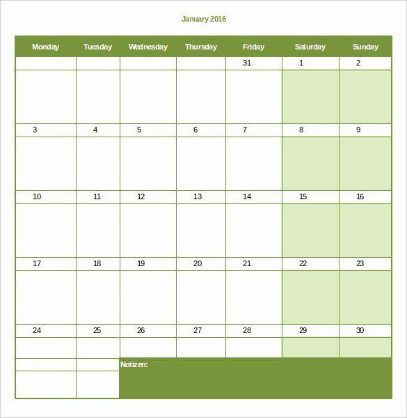 Monthly Schedule Template Excel Best Of 22 Monthly Work ...