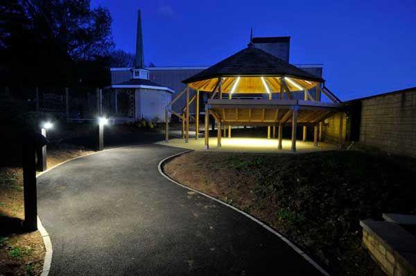 Haycombe Cemetary and Crematorium | Designplan Lighting