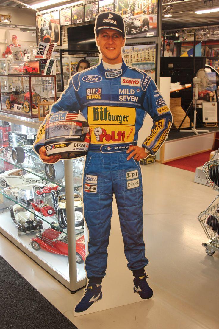 Details over Cardboard Figurine Michael Schumacher Mild ...