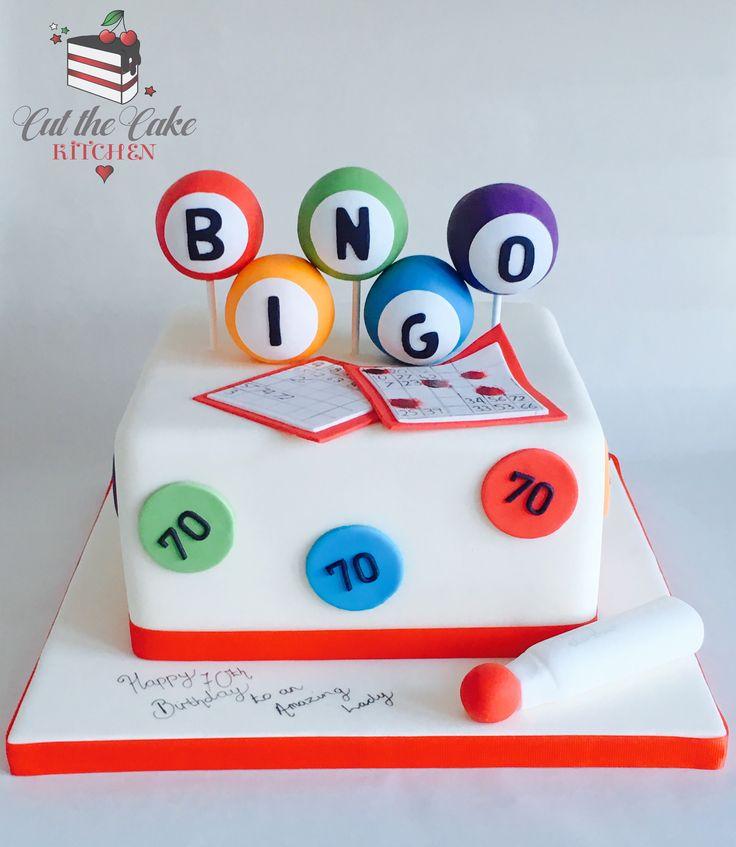 Bingo Cake.   Full house!!