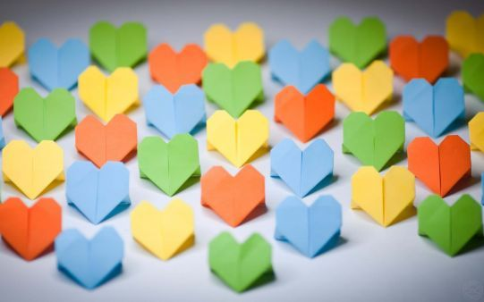 #hearts #paper #origami #love_wallpaper #hd_wallpaper. http://alliswall.com/love/mood_hearts_paper_origami_love_wallpaper