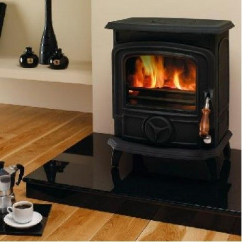 The Oisin solid fuel stove is one of our smaller stoves and offers high heat output 6.4kW and great efficiency.  Up to 78.8% efficiency, this stove comes in a choice of solid fuel, gas or oil models. The compact design ensures that it will fit easily into your home and is ideal for small rooms and apartment living.