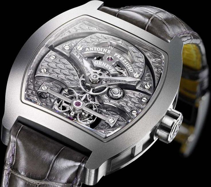 Часы Antoine Preziuso Dragon Skin Tourbillons Skeleton