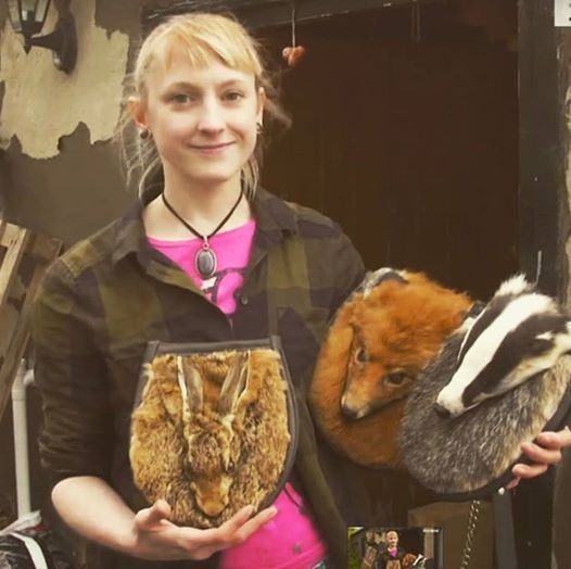 Meet the vegan designer who makes handbags out of roadkill