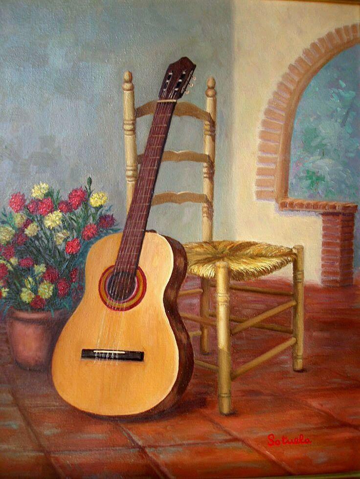 Flamenco Carnation Bouquet Guitars Flamingo