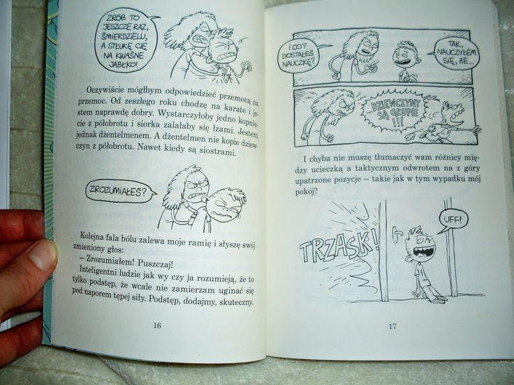 """Seria """"Hej, Jędrek!"""" to doskonałe połączenie powieści i komiksu."""
