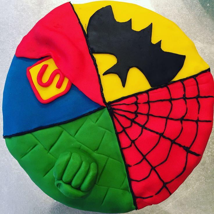 Superhero cake for Sam (5)