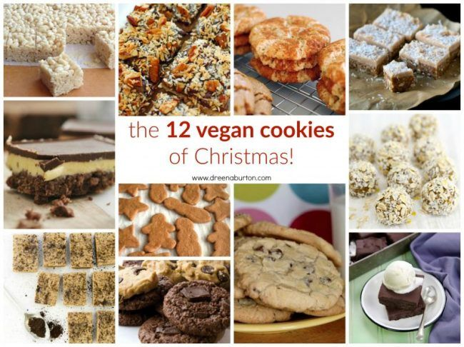 The 12 #VEGAN COOKIES OF CHRISTMAS! with dietary options for #glutenfree #nutfree #oilfree #soyfree and #raw cookies