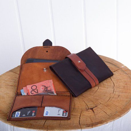 Leather Wallet/Purse by chocolate brownie-SR