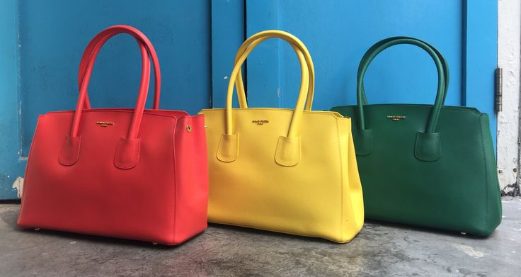 Obsessed with MAUD FRIZON popcolour collection - simply beautiful.  #maudfrizon #spring #colorpalette #versatile #feminine #casual #tote #accessories #handbags #fashioninspiration #chic #style