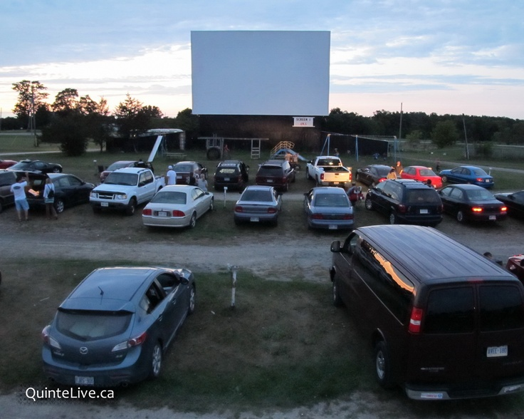The Drive-In . . . really don't know if I ever saw the end of a movie . . .
