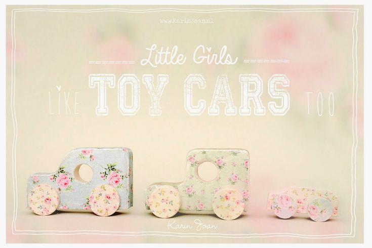 Hoi allemaal,     Kleine meisjes hebben ook recht op mooie autootjes, vind je ook niet?! Daarom maakte ik deze oude autootjes tot auto...