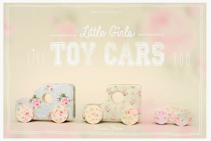 Girly Toy Cars