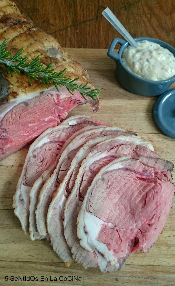 5 SeNtIdOs En La CoCiNa: British Roast Beef con salsa de rábano picante y Yorkshire pudding