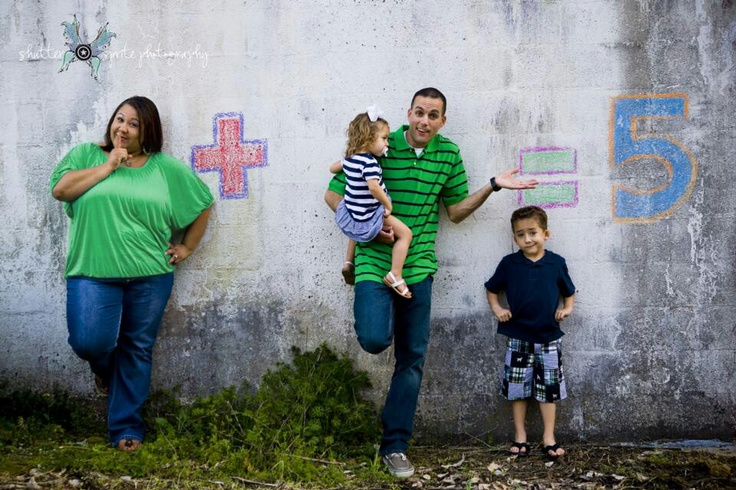 Baby announcement pic