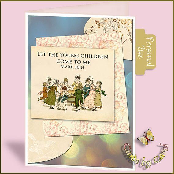 _ccrl Little Children  Free Printable Card