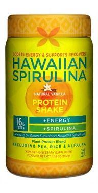 Spirulina protein drink