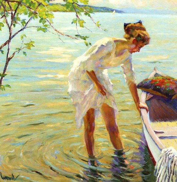 Paper Images  Edward Cucuel (American, 1875-1954), The Boat