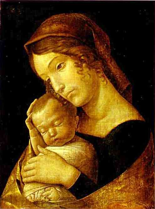 Manegna's Madonna, my favorite painting in Berlin