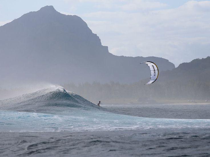 Great wave shot via CORE Kiteboarding #kiteboarding #kitesurfing #travel - actiontripguru.com