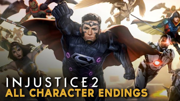 Injustice 2 - All Character Endings