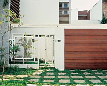 M s de 25 ideas fant sticas sobre fachada de muro - Muro exterior casa ...