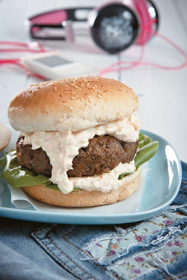 Τα παιδιά έχουν αδυναμία στο fast food και τρελαίνονται για μπέργκερ. Ιδού η πιο νόστιμη και υγιεινή εκδοχή τους. #burger