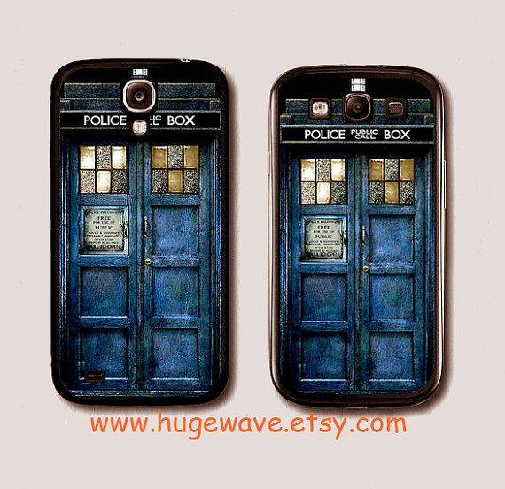 The Tardis Doctor who Samsung case, galaxy s2 case, galaxy s3 case, galaxy s4 case, cell phone case, Samsung S2 case, S3 case, S4 case on Etsy, $7.99