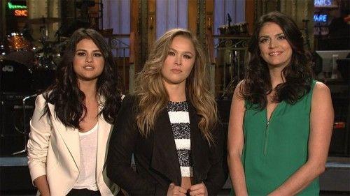 Ronda Rousey Hosts SNL, Tina Fey Returns as Sarah Palin   Gossip & Gab