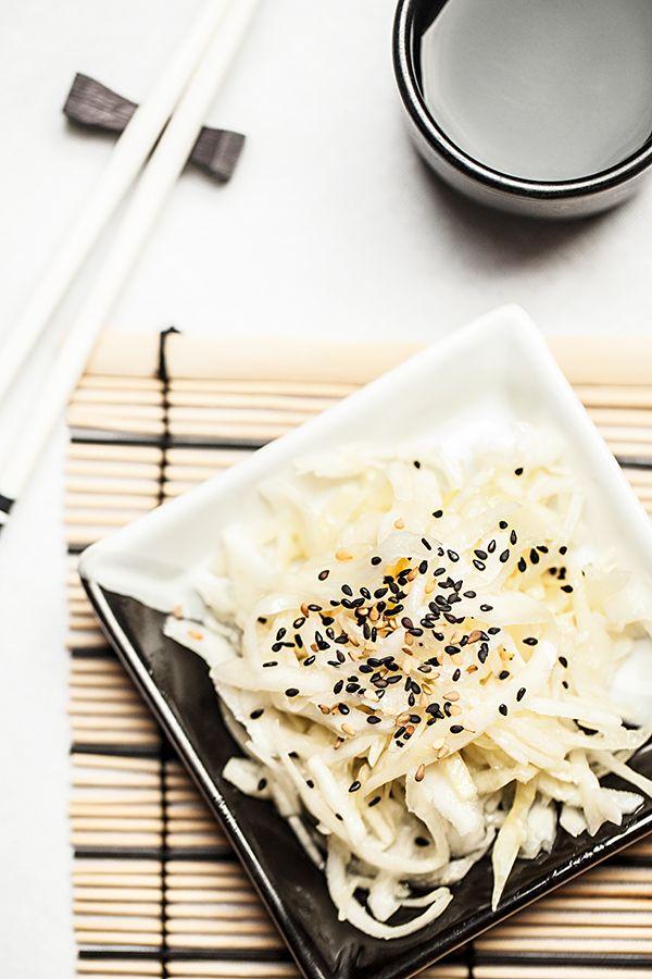 Cro'K'mou, blog culinaire: Salade de chou comme au restaurant Japonais
