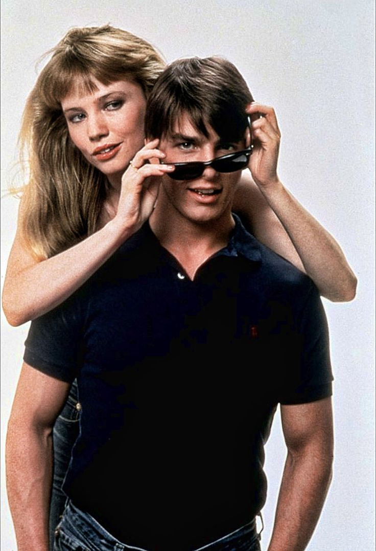 "Rebecca de Mornay y Tom Cruise en ""Risky Business"", 1983"