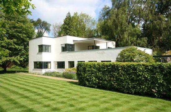 1930s H C Hughes-designed modernist property in Cambridge, Cambridgeshire