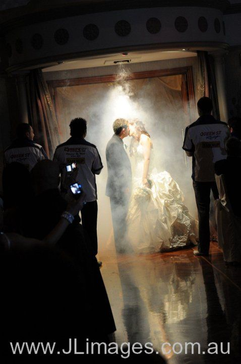 Fog concealing and creating this enchanting moment of the wedded couple. Check out this photograph of the beautiful moment. #jlimages #weddingphotography #photography #wedding