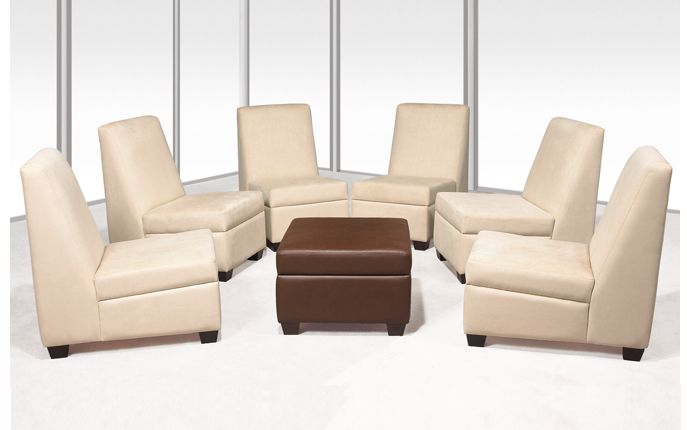 Holiday by OFGO  Holiday Series lounge seating is GREENGUARD Indoor Air Quality Certified for a healthier environment, and meets the requirements for low-emitting materials LEED credit 4.5 (systems furniture and seating).  # Office Furniture, Comfort, Modern, Style