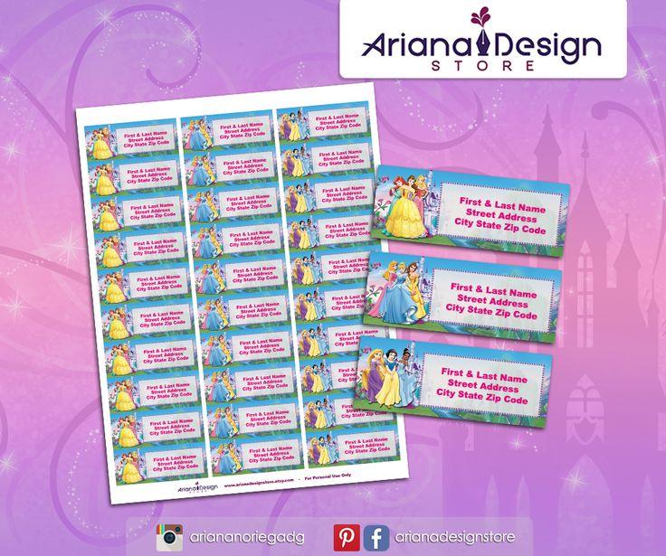#etiquetas #etiquetasparadirecciones #disneyprincess #arianadesignstore #princesadisney #addresslabel #partyprincess #label #mail #stickers #letter # #etiquetascolegio #fiestaprincesa #nametag #disneyprincessstickers