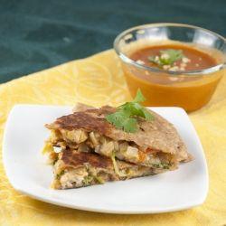Thai Chicken Quesadillas. Chicken quesadillas with a sweet chili sauce ...