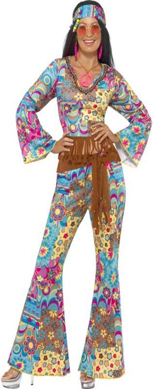 Hippy Flower Power Costume