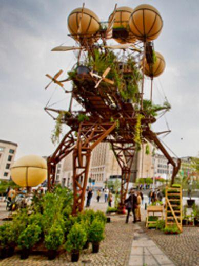 L'Expédition végétale au Parc de la Villette - Paris