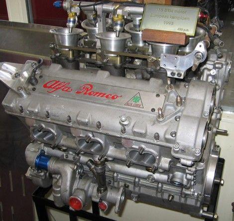 Alfa 155 V6 DTM Engine
