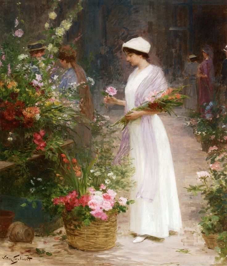 46 best french artist victor gabriel gilbert 1847 1933 images on victor gabriel gilbert picking flowers painting is shipped worldwideincluding stretched canvas and framed artis victor gabriel gilbert picking flowers fandeluxe Image collections