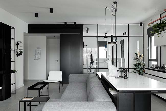 J3 Apt A Apartment For A Couple In Tel Aviv By Studio Etn Apartment Design Modern Apartment Design White Apartment